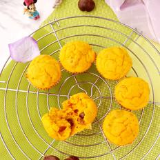 南瓜栗子小蛋糕的做法