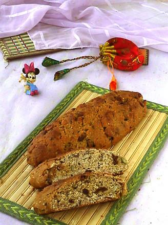 综合果仁面包的做法