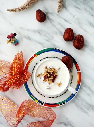 燕麦红枣酸奶的做法