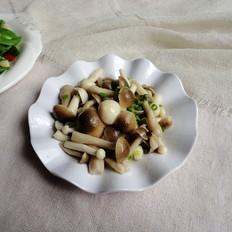 鲜味炝双菇