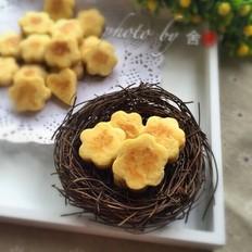 花型鸡蛋小饼的做法