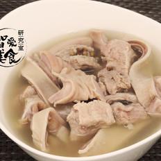 暖胃必备——微波炉胡椒猪肚煲