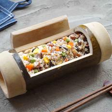 自制竹筒饭