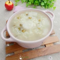 山药绿豆粥