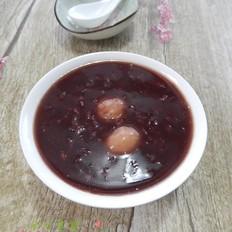 双米糯圆粥