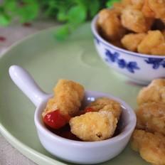 黑椒鸡米花的做法