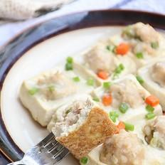 煎烤酿豆腐