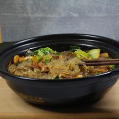 青菜牛肉炖粉条的做法