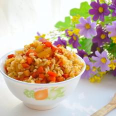 一罐鲜米炒米饭