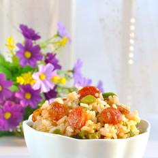 腊肠豆角焖九阳鲜米饭