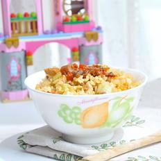 豆角焖米饭