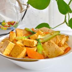 蚝油炖北豆腐
