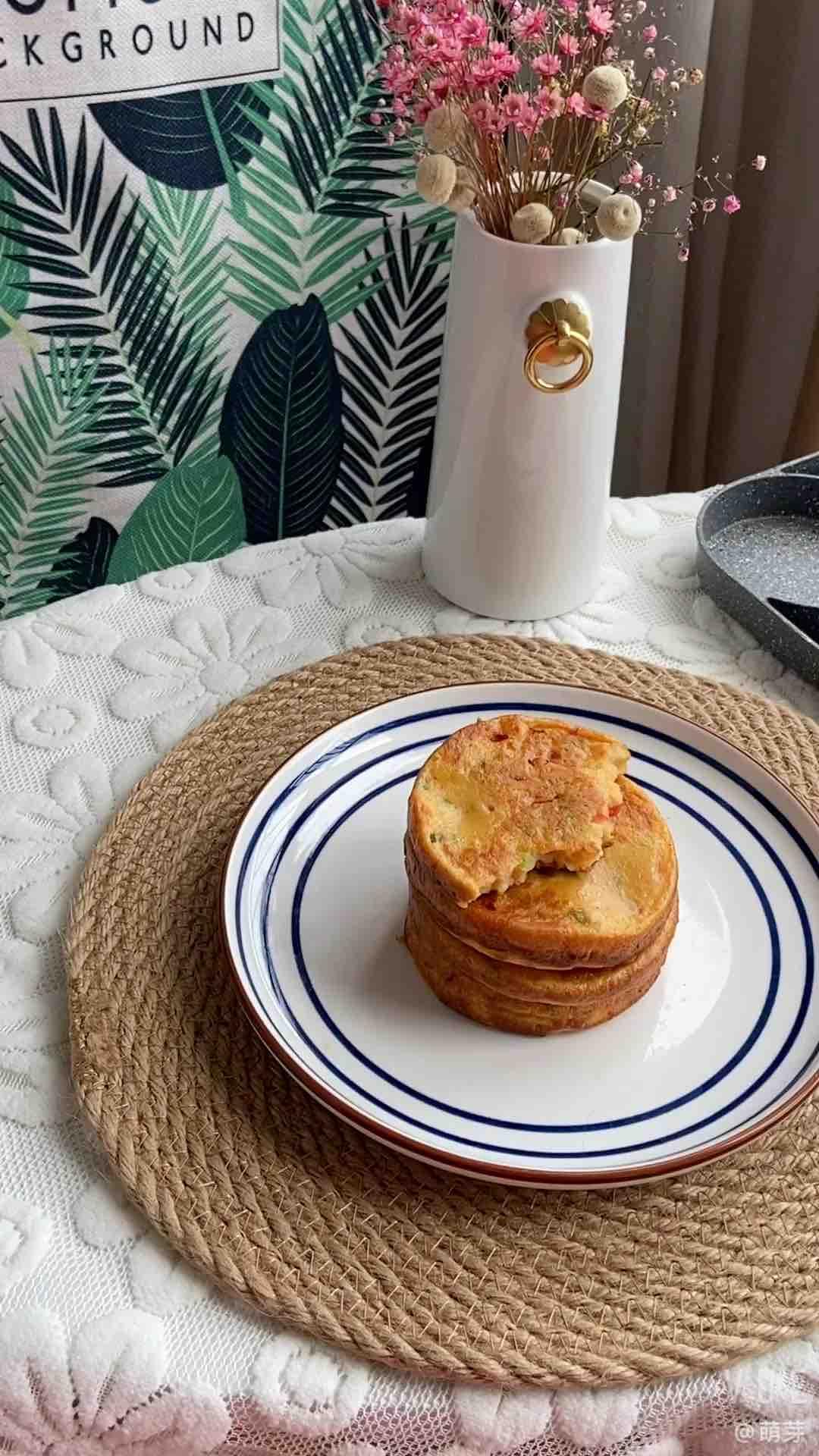 葱香小圆饼的做法