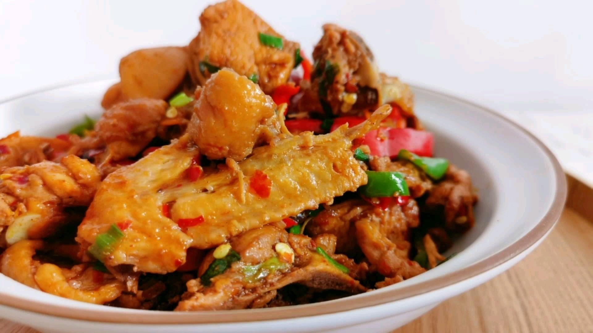 除夕夜的必备菜--香菇炒鸡