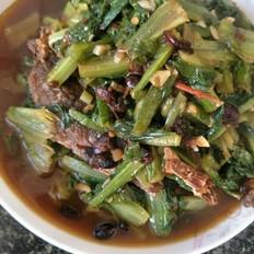 油麦菜豆豉鱼