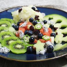 7点早餐|夏日必备,纯水果冰淇淋&沙拉的做法