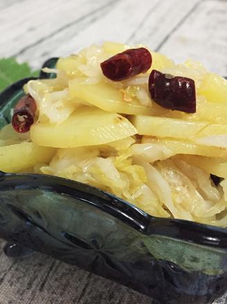 酸菜土豆片的做法