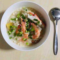 海鲜粥虾蟹粥