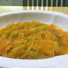 虾米炒西瓜皮