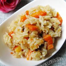 胡萝卜焖饭