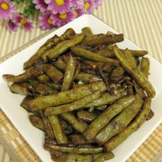 肉丝炒扁豆