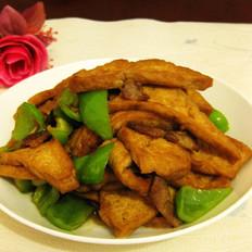 蚝油烧煎豆腐