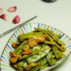 猪肉炒豆角
