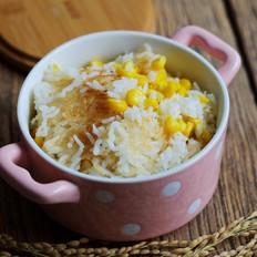 香甜玉米锅巴饭