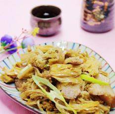干菜花烧腐竹