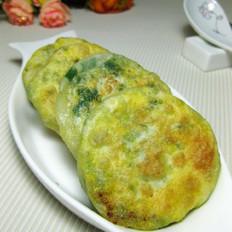 韭菜油豆腐馅饼