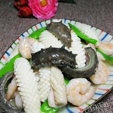 海參魷魚卷