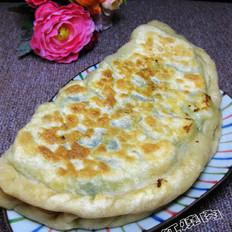 韭菜虾仁馅饼