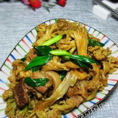 干锅干菜花