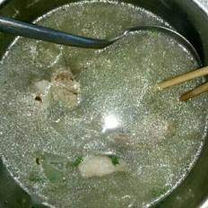 冬瓜大骨头汤