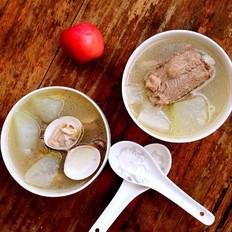 蛤蜊冬瓜排骨汤