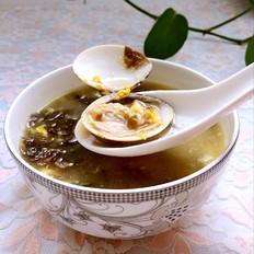 蛤蜊紫菜蛋花汤