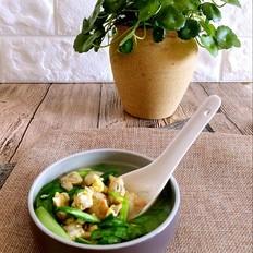 蛤蜊鸡蛋韭菜汤