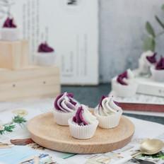 宝宝辅食紫薯山药奶糕