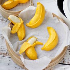 造型香蕉馒头