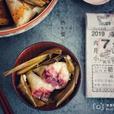 紫薯粽子小米糯粽