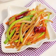 小咸菜—炒腊菜疙瘩丝