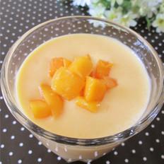 芒果奶昔的做法