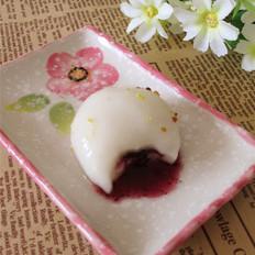 蓝莓果酱汤圆的做法