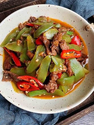 莴苣炒肉片-米饭杀手的做法