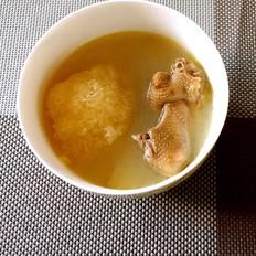 花胶螺片海底椰美肌汤