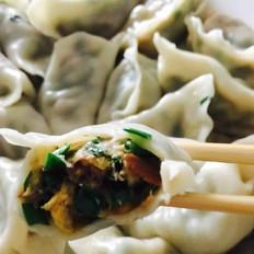 韭菜鸡蛋虾仁水饺