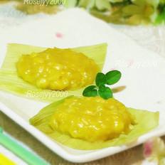 鲜玉米蒸饼的做法