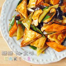 五色杂疏家常豆腐