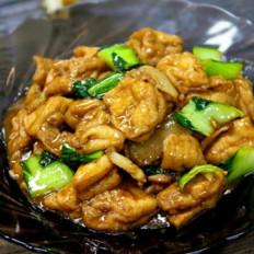油豆腐炒青菜