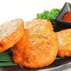 香茅草咖喱鱼饼